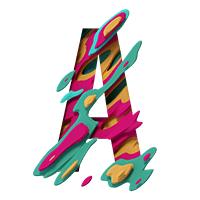 Futuristic Smashed Font
