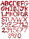 Maniac Blood Font