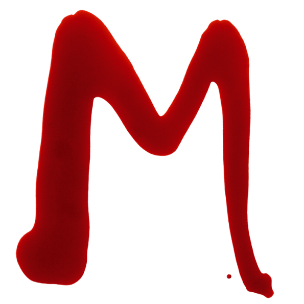 Maniac Red Blood Font