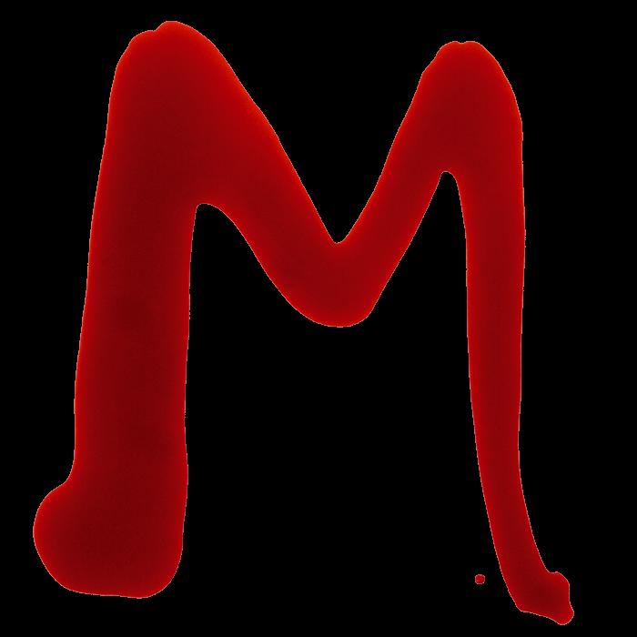 Maniac Red Blood Font