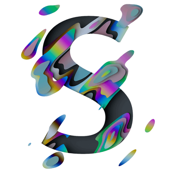 Spectral Font Letter S