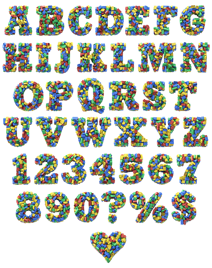 Toy Cube Font