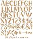 Wooden Chain Font