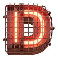 Alarm Light Font
