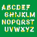 Fold Type Font