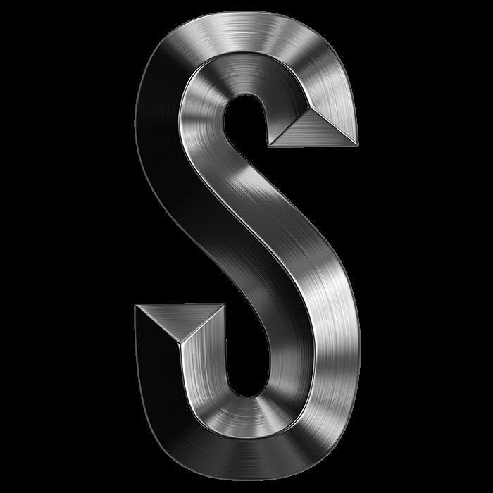 Stylish Metal Typeface