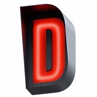 Traffic Light Red Typeface