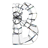 Shattered Glass Typeface