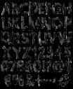 Mysterious Dark Font