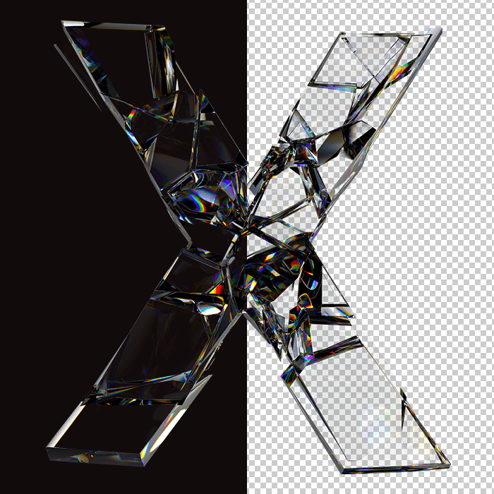 Fragile Glass Font