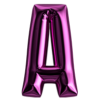 Birthday Balloon Font
