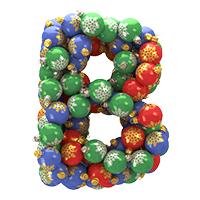 Christmas Balls Font
