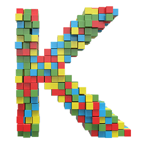 Cube Colorful Typeface