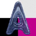 Blue Helium Font