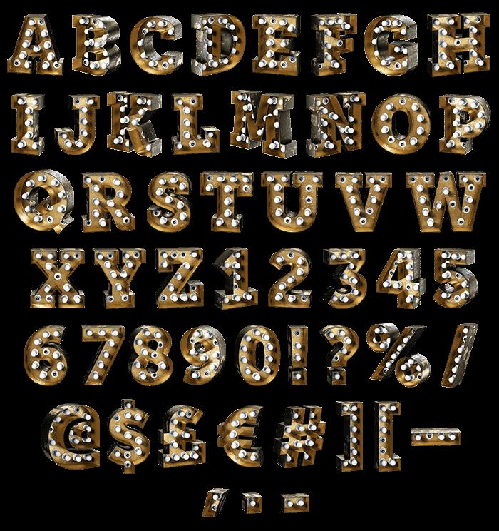 Bulbs Black Chaos Font