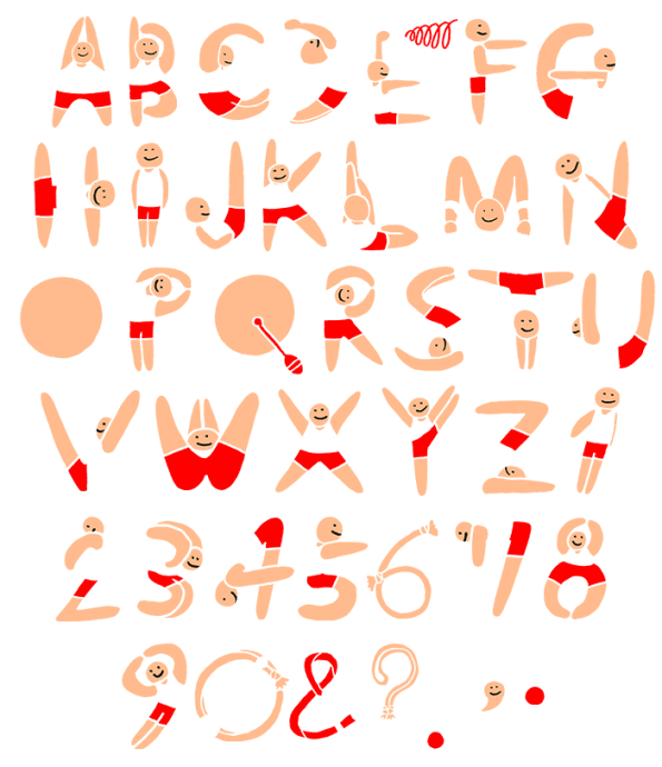 Funny Sport Typeface