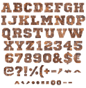 Old Rusty Grunge Typeface