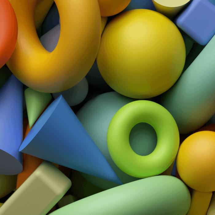 Vivid Geometry Typeface