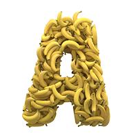 Yellow Fruit Typeface