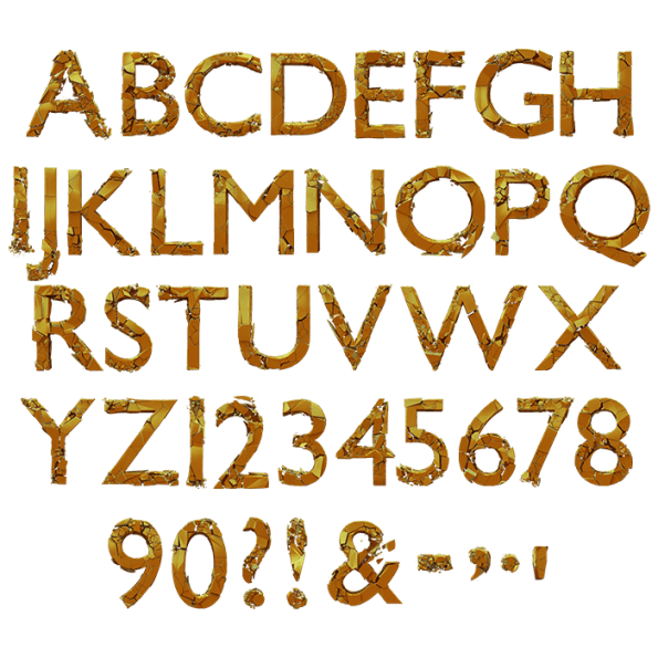Golden Action Typeface