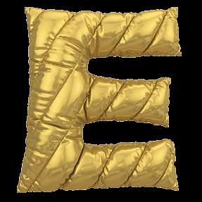 Balloon Golden Typeface