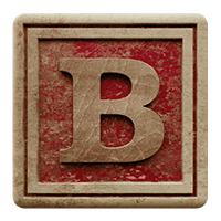 Vintage Red Font