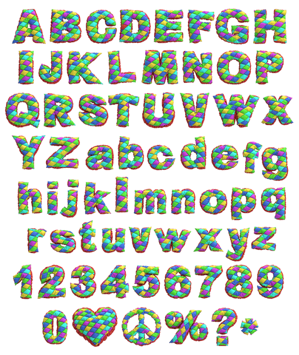 Patchwork Creative Font