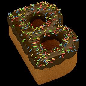 Cake Chocolate Typeface