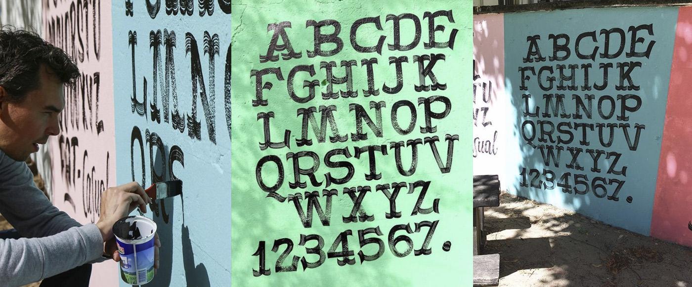 Paint font