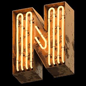 Warm Neon Typeface
