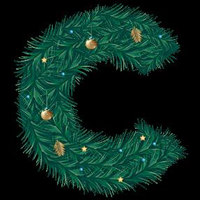 Christmas Fir Font
