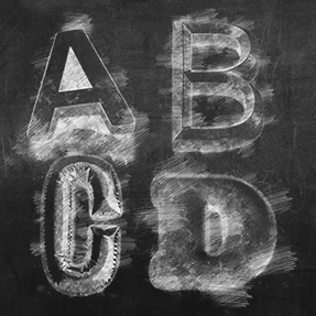 Classical Chalk Typeface