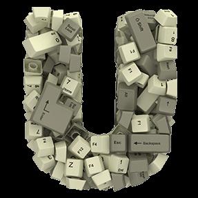 3D Computer Font