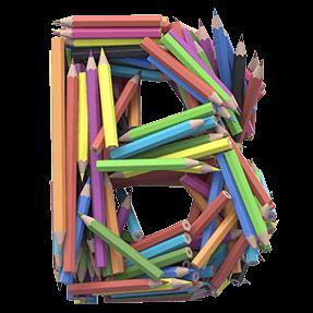 Artistic 3D Font
