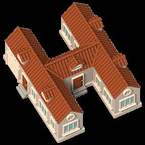 3D House Typeface