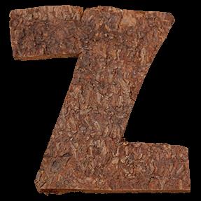 Natural Bark Typeface