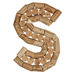 Wine Cork Font