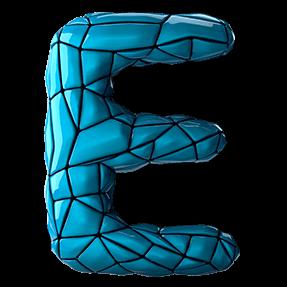 Blue Exo Typeface