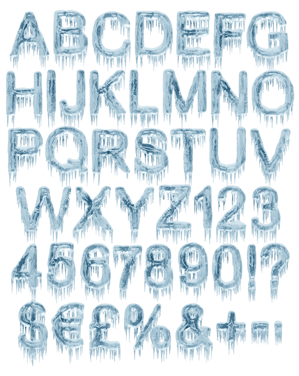 buy ice age font to create astonishing winter typography. Black Bedroom Furniture Sets. Home Design Ideas
