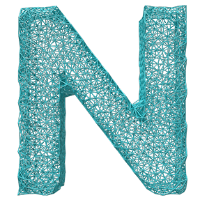 Blue Modern Typeface