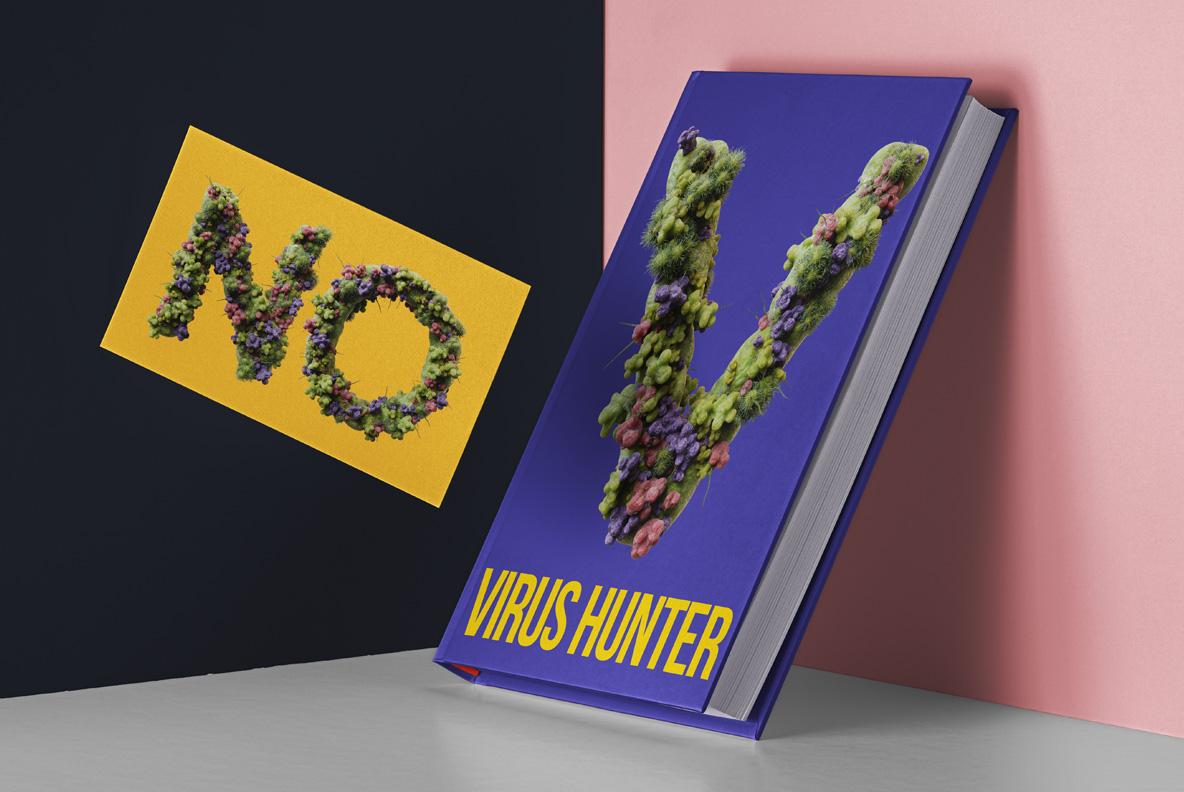 Virus OpenType SVG Font