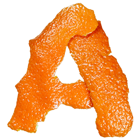 Orange Fruit Font
