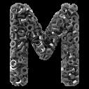Grey Bolts Font - handmadefont