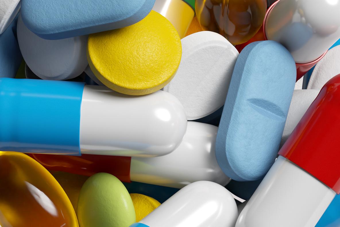 Pills Font OpenType SVG