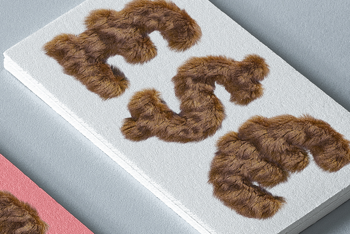 Brown Teddy Bear Font