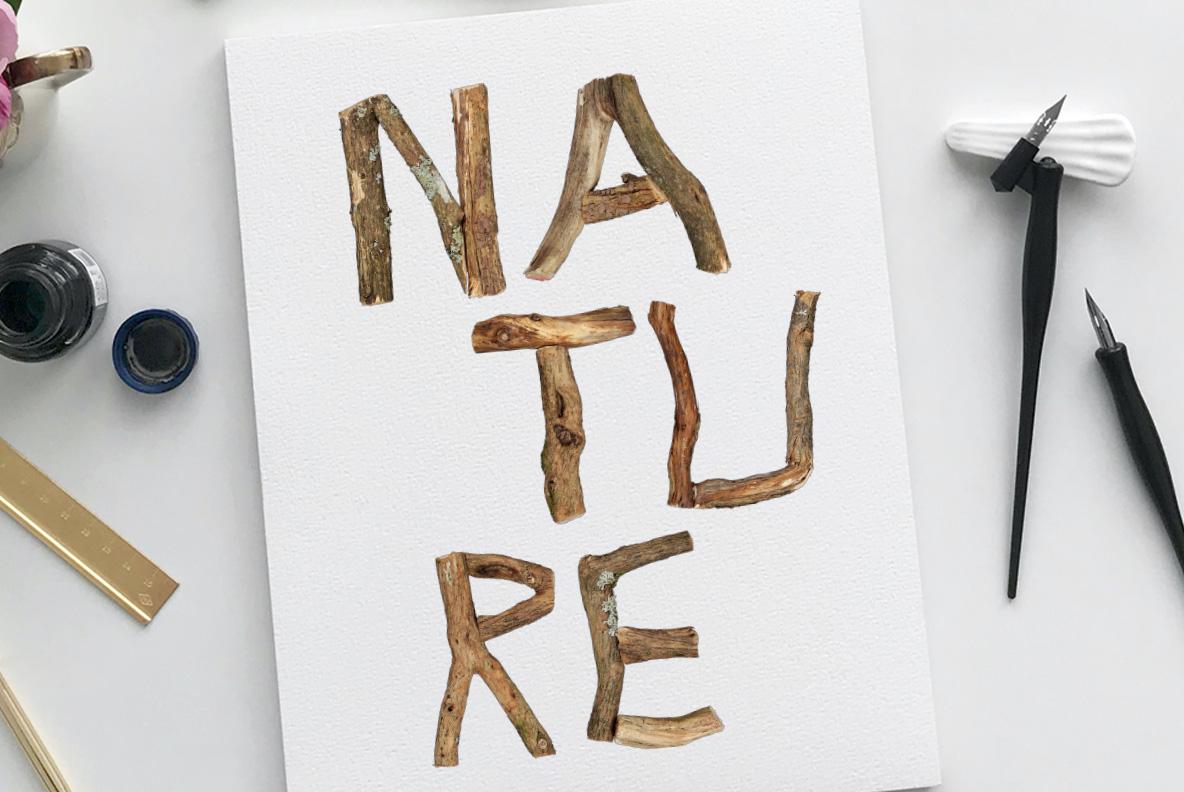 Dry Twigs OpenType SVG Font