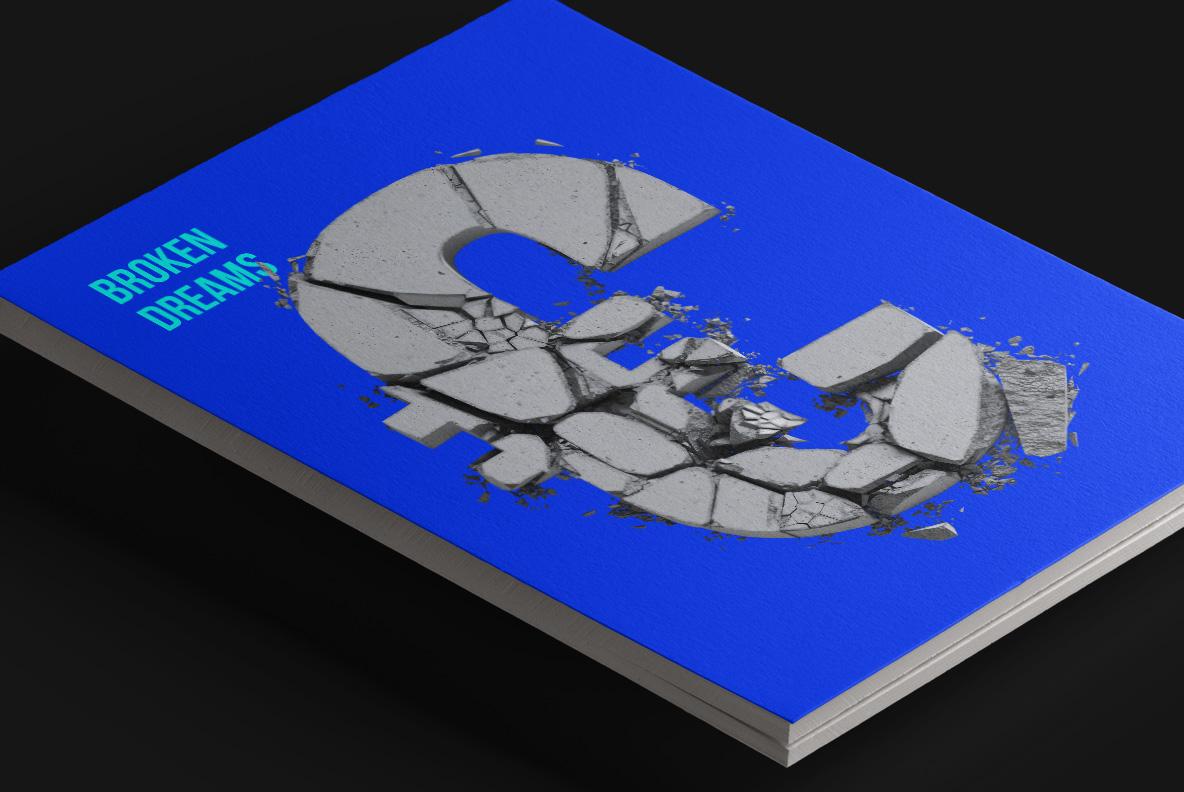 Concrete Font OpenType magazine cover