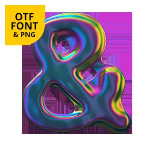 Colorama Font Opentype SVG
