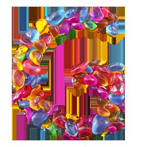 Gems Font Letter G