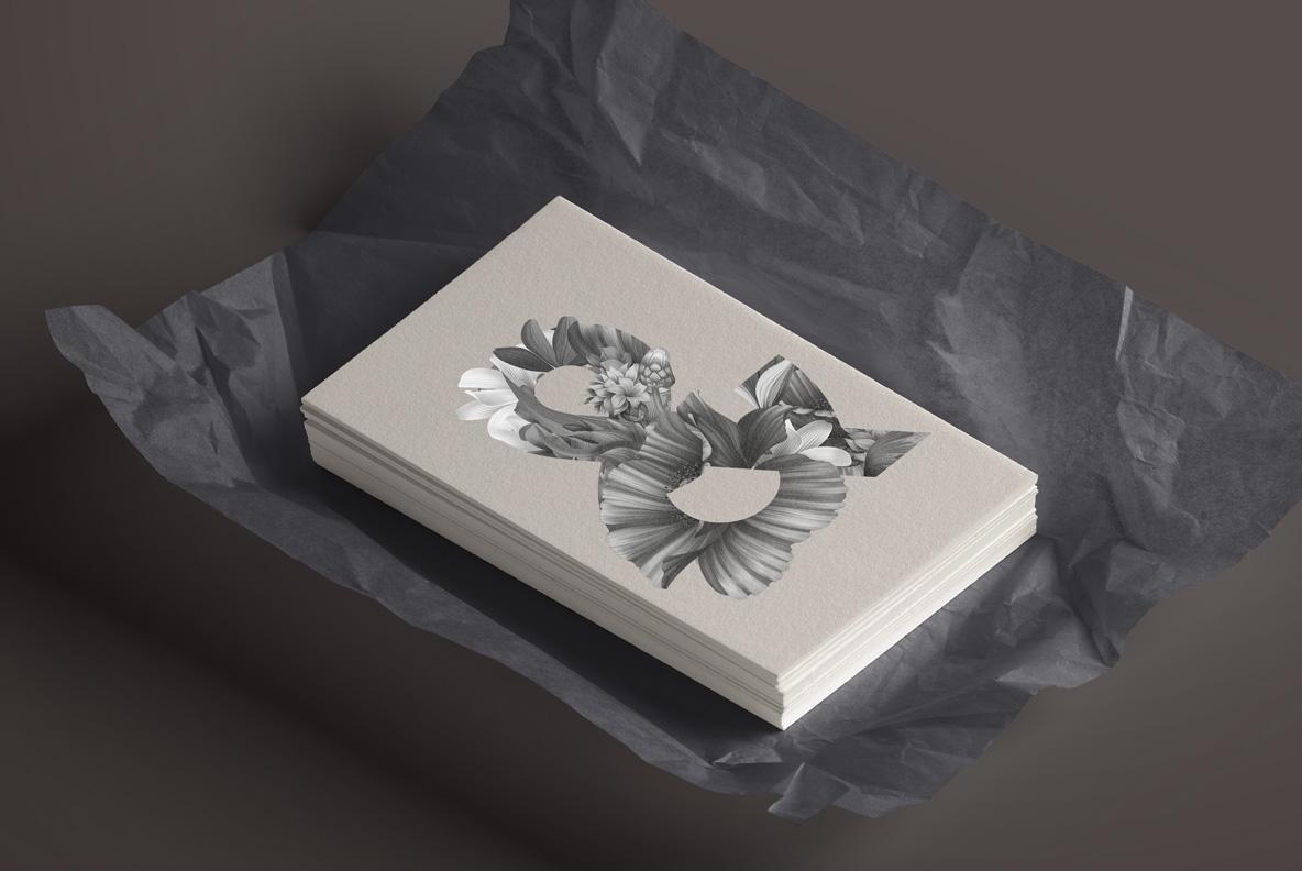Wacomka Flowers Font OpenType Typeface SVG